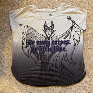 Disney Villains Maleficent ombré short sleeve tee